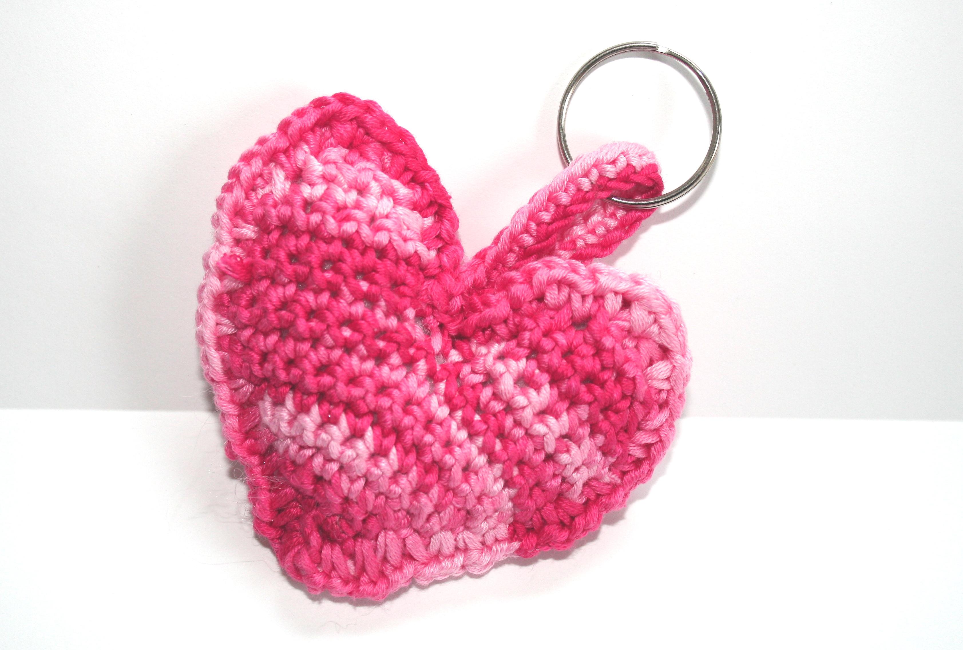 Attractive Häkeln Rotes Herz Muster Gift - Decke Stricken Muster ...